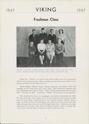 Page 10, 1947 Edition, Wallace High School - Viking Yearbook (Wallace, SD) online yearbook collection