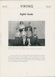 Page 11, 1947 Edition, Wallace High School - Viking Yearbook (Wallace, SD) online yearbook collection