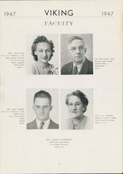 Page 5, 1947 Edition, Wallace High School - Viking Yearbook (Wallace, SD) online yearbook collection