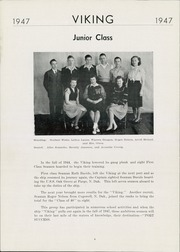 Page 8, 1947 Edition, Wallace High School - Viking Yearbook (Wallace, SD) online yearbook collection