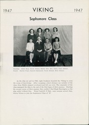 Page 9, 1947 Edition, Wallace High School - Viking Yearbook (Wallace, SD) online yearbook collection