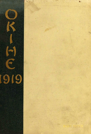 1919 Edition, Yankton College - Okihe Yearbook (Yankton, SD)