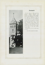 Page 10, 1921 Edition, Yankton College - Okihe Yearbook (Yankton, SD) online yearbook collection