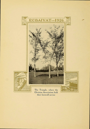 Page 14, 1926 Edition, Huron University - Rubaiyat Yearbook (Huron, SD) online yearbook collection