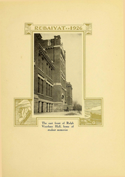 Page 15, 1926 Edition, Huron University - Rubaiyat Yearbook (Huron, SD) online yearbook collection