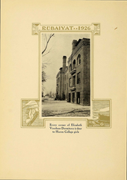 Page 16, 1926 Edition, Huron University - Rubaiyat Yearbook (Huron, SD) online yearbook collection
