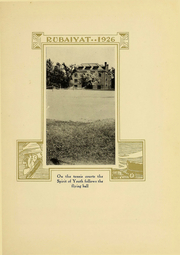 Page 17, 1926 Edition, Huron University - Rubaiyat Yearbook (Huron, SD) online yearbook collection