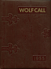 1955 Edition, Menno High School - Wolf Call Yearbook (Menno, SD)