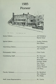 Page 5, 1985 Edition, Fay School - Pioneer Yearbook (Southborough, MA) online yearbook collection