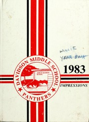 Page 1, 1983 Edition, Davidson Middle School - Achievements Yearbook (San Rafael, CA) online yearbook collection