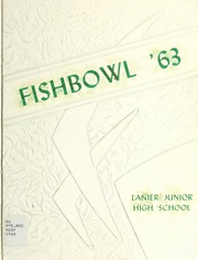 Page 1, 1963 Edition, Lanier Junior High School - Fishbowl Yearbook (Macon, GA) online yearbook collection