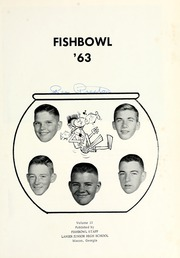 Page 5, 1963 Edition, Lanier Junior High School - Fishbowl Yearbook (Macon, GA) online yearbook collection