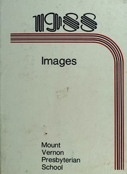 1988 Edition, Mount Vernon Presbyterian School - Images Yearbook (Atlanta, GA)