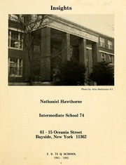 Page 7, 1982 Edition, Nathaniel Hawthorne Junior High School 74 - Insights Yearbook (Bayside, NY) online yearbook collection