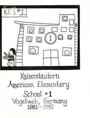 Page 5, 1982 Edition, Kaiserslautern Elementary School - Yearbook (Vogelweh, Germany) online yearbook collection