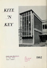 Page 10, 1962 Edition, Franklin Junior High School - Kite N Key Yearbook (Fort Wayne, IN) online yearbook collection