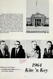 Page 7, 1964 Edition, Franklin Junior High School - Kite N Key Yearbook (Fort Wayne, IN) online yearbook collection