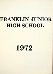 Page 7, 1972 Edition, Franklin Junior High School - Kite N Key Yearbook (Fort Wayne, IN) online yearbook collection