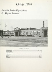 Page 5, 1974 Edition, Franklin Junior High School - Kite N Key Yearbook (Fort Wayne, IN) online yearbook collection