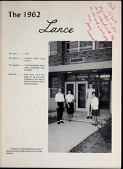 Page 7, 1962 Edition, Lakeside Middle School - Lance Yearbook (Fort Wayne, IN) online yearbook collection
