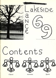 Page 9, 1969 Edition, Lakeside Middle School - Lance Yearbook (Fort Wayne, IN) online yearbook collection