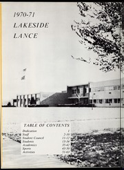 Page 8, 1971 Edition, Lakeside Middle School - Lance Yearbook (Fort Wayne, IN) online yearbook collection