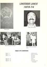 Page 5, 1974 Edition, Lakeside Middle School - Lance Yearbook (Fort Wayne, IN) online yearbook collection