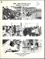 Page 7, 1981 Edition, Lakeside Middle School - Lance Yearbook (Fort Wayne, IN) online yearbook collection