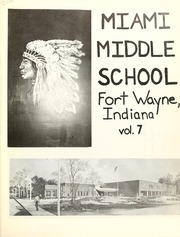 Page 7, 1978 Edition, Miami Middle School - Memories Yearbook (Fort Wayne, IN) online yearbook collection