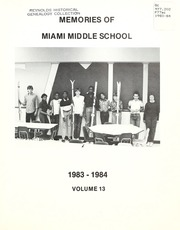 Page 7, 1984 Edition, Miami Middle School - Memories Yearbook (Fort Wayne, IN) online yearbook collection