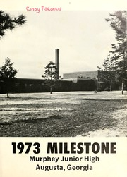 Page 5, 1973 Edition, Murphey Middle Charter School - Milestone Yearbook (Augusta, GA) online yearbook collection