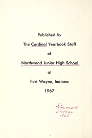Page 8, 1967 Edition, Northwood Middle School - Northwood Cardinal Yearbook (Fort Wayne, IN) online yearbook collection