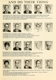 Page 13, 1971 Edition, Northwood Middle School - Northwood Cardinal Yearbook (Fort Wayne, IN) online yearbook collection