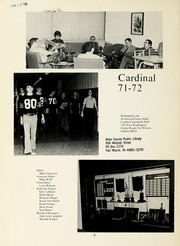 Page 8, 1972 Edition, Northwood Middle School - Northwood Cardinal Yearbook (Fort Wayne, IN) online yearbook collection