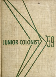 1959 Edition, John C Fremont Junior High School - Junior Colonist Yearbook (Anaheim, CA)