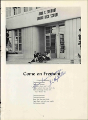 Page 7, 1961 Edition, John C Fremont Junior High School - Junior Colonist Yearbook (Anaheim, CA) online yearbook collection