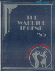 1985 Edition, Alta Loma Junior High School - Warrior Legend Yearbook (Alta Loma, CA)