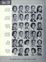 Page 10, 1958 Edition, Orville Wright Middle School - Skywriter Yearbook (Los Angeles, CA) online yearbook collection