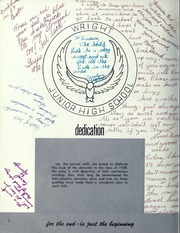 Page 4, 1958 Edition, Orville Wright Middle School - Skywriter Yearbook (Los Angeles, CA) online yearbook collection
