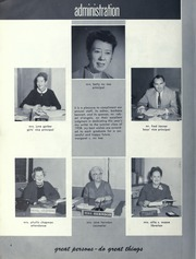 Page 6, 1958 Edition, Orville Wright Middle School - Skywriter Yearbook (Los Angeles, CA) online yearbook collection