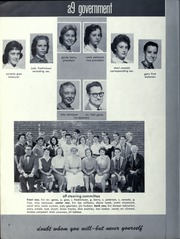 Page 8, 1958 Edition, Orville Wright Middle School - Skywriter Yearbook (Los Angeles, CA) online yearbook collection