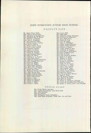 Page 16, 1933 Edition, John Burroughs Middle School - Burr Yearbook (Los Angeles, CA) online yearbook collection