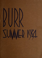 Page 1, 1934 Edition, John Burroughs Middle School - Burr Yearbook (Los Angeles, CA) online yearbook collection