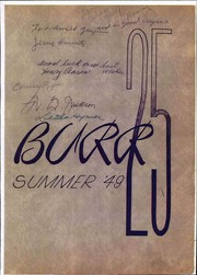 Page 1, 1949 Edition, John Burroughs Middle School - Burr Yearbook (Los Angeles, CA) online yearbook collection
