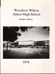 Page 5, 1974 Edition, Woodrow Wilson Middle School - Wilson Yearbook (Glendale, CA) online yearbook collection