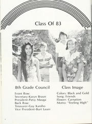 Page 48, 1982 Edition, Central Middle School - Keelikolani Yearbook (Honolulu, HI) online yearbook collection