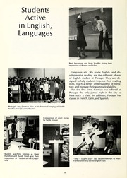Page 12, 1969 Edition, Portage Middle School - Portarama Yearbook (Fort Wayne, IN) online yearbook collection