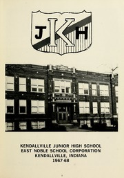 Page 9, 1968 Edition, Kendallville Middle School - Probe Yearbook (Kendallville, IN) online yearbook collection