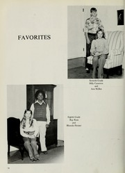 Page 22, 1977 Edition, Tyson Junior High School - General Yearbook (Knoxville, TN) online yearbook collection