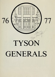 Page 7, 1977 Edition, Tyson Junior High School - General Yearbook (Knoxville, TN) online yearbook collection